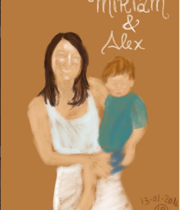 Miriam y Alex