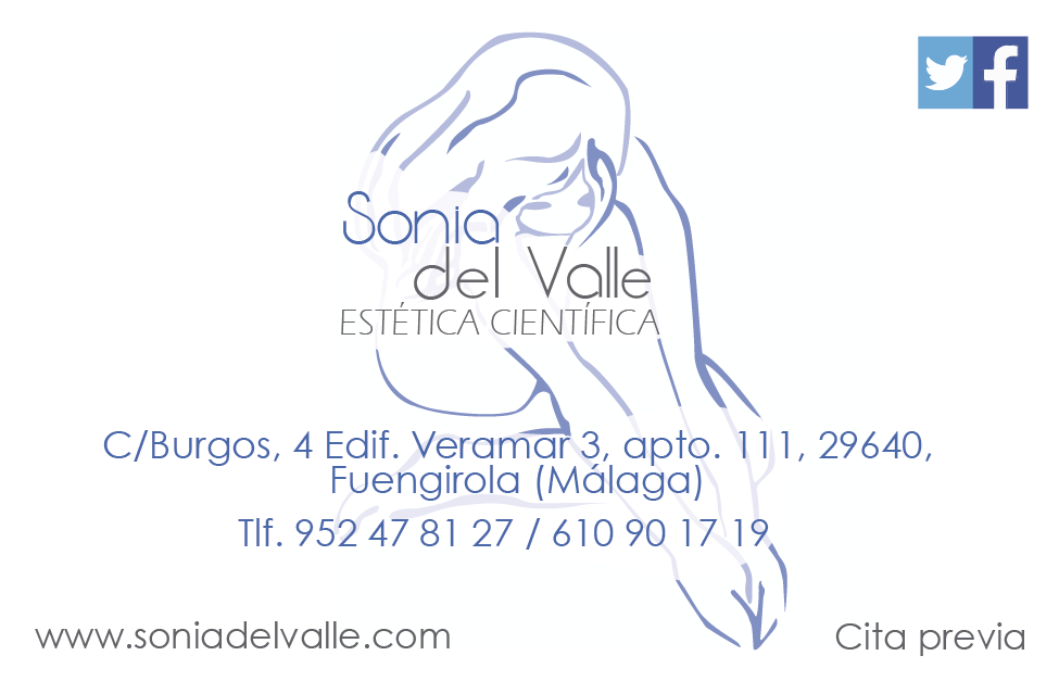 Tarjeta para Sonia del valle