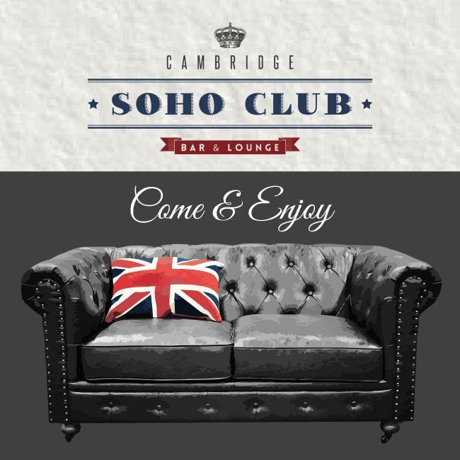 Tarjeta Cambridge Soho Club
